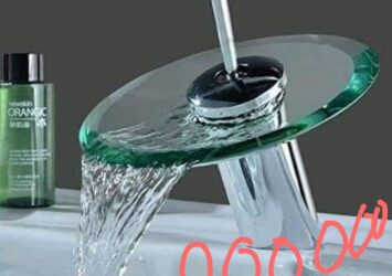 glass water tap